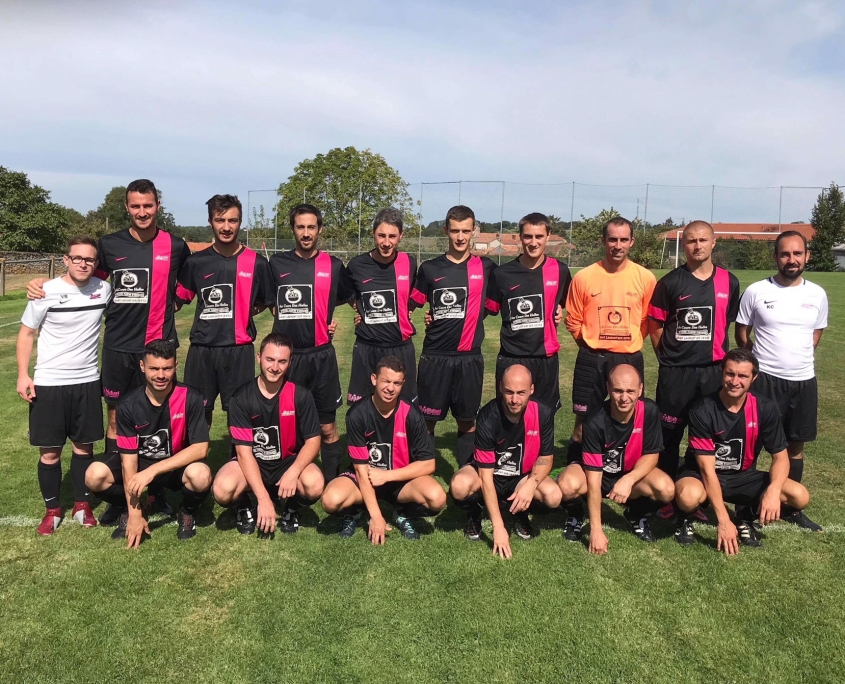 équipe de football seniors B fc saint laurent malvent