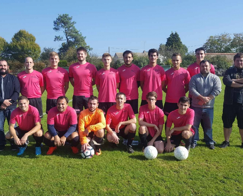 équipe de football seniors C fc saint laurent malvent