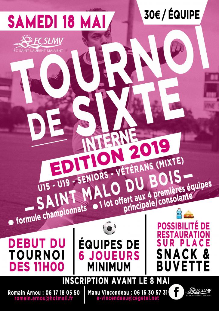 Tournoi de Sixte 2019 - 18 Mai 2019