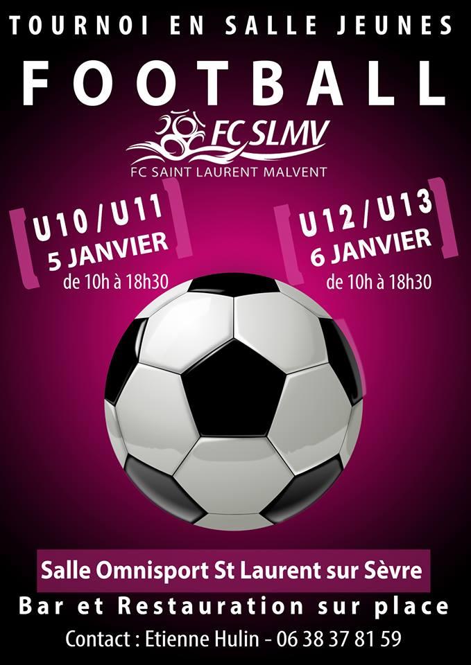 Tournoi football Jeunes en Salle - 5/6 Janvier 2019