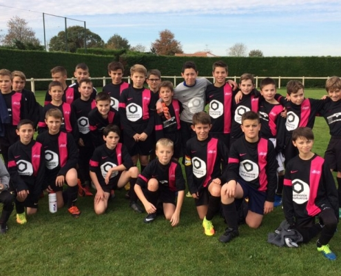 équipe de football u13 fc saint laurent malvent
