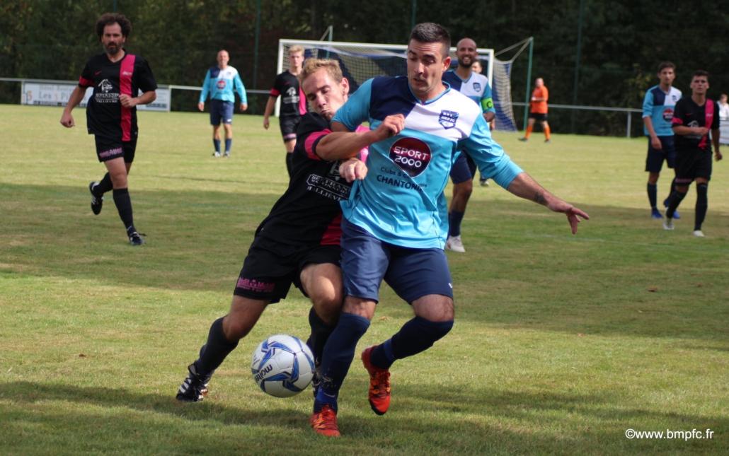joueurs de foot fcslmv